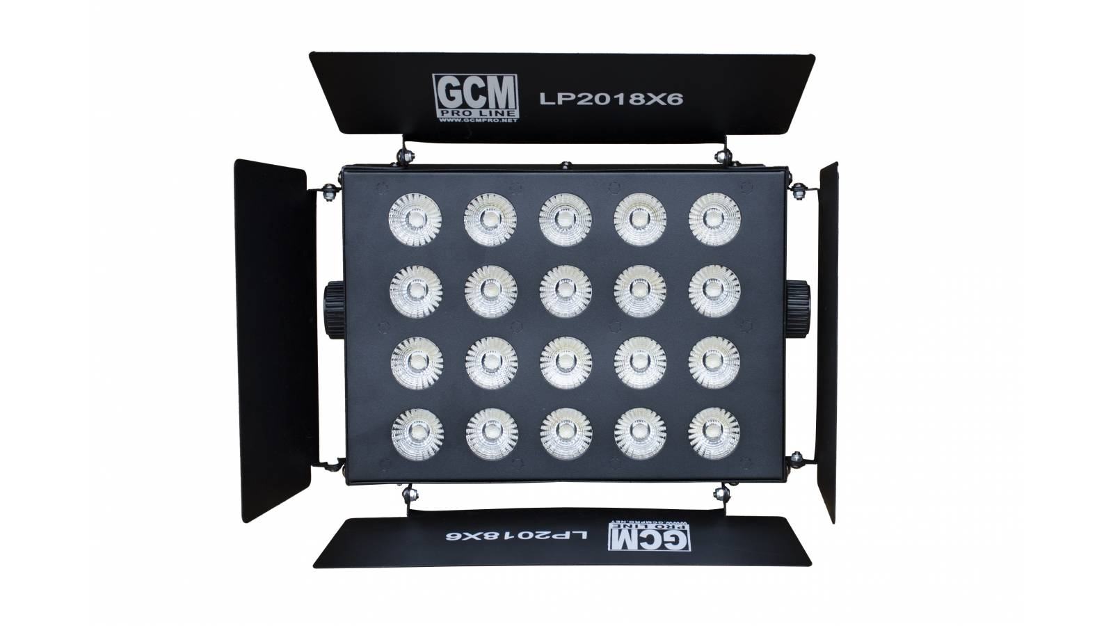 Bañador 20 LEDS x 18W RGBWA+UV - LP2018 GCM Pro Line