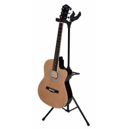 Soporte Para 2 Guitarras Plegable Super reforzado Traba Automática