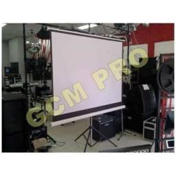 Pantalla Gigante 120 Pulgadas Con Tripode Gcm Pro