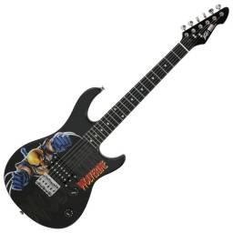 Guitarra Electrica Peavey 4/4 - Diseños Marvel - 3 Diseños A Elección
