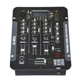 Mixer Profesional 6 Entradas, Control De Tono Independiente GJ-626USB