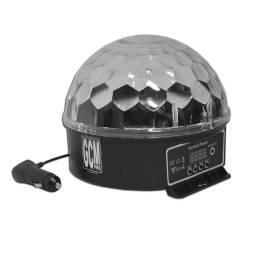 Efecto LED Cristall Ball 6 LEDS x 1W para Auto 12V Multicolor Gcm Pro