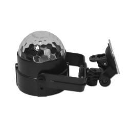 Efecto Led Mini Cristall Ball RGB para Auto conexión 12V