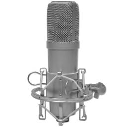 Microfono Profesional de Estudio USB + Araña + funda de Cuero GM-100USB