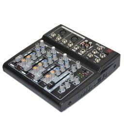 Mixer 4 Canales Consola Ga401 Efectos, Eq, Phantom