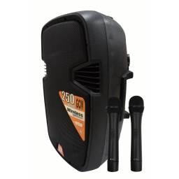 "Caja Activa/ Bafle G-2115EAU-BT 15"" GCM DJ Con Batería Interna, Bluetooth, FM, USB y SD"