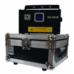 Laser RGB G3K-RGB+SD 3W GCM Pro 30 Kpps con Flight case / Anvil de regalo