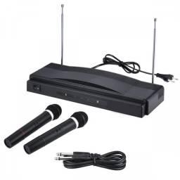 Kit 2 microfonos inalambricos GT-307
