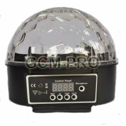 Magic Cristal Ball LED L001 DMX 6 X 3W GCM Pro