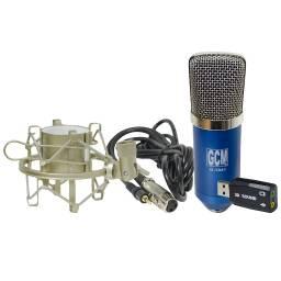 Microfono para Estudio Condensador USB ideal grabaciones G-1041