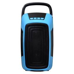 "Parlante Portátil Estéreo 2x4"" G-8607 Bluetooth / USB / SD / Radio FM / Recargable"