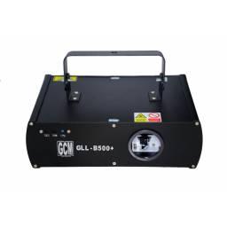 Laser Azul GCM Pro 500mW B500+ DMX/Automatico/Audiorritmico