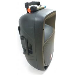 "Caja Activa/ Bafle GMK-15AMFQ-BT 15"" GCM DJ Con Batería Interna"