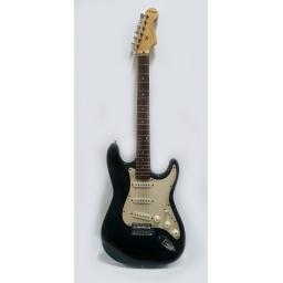 Guitarra electrica Stratocaster 4/4 Fever FEV-ELECT-BK