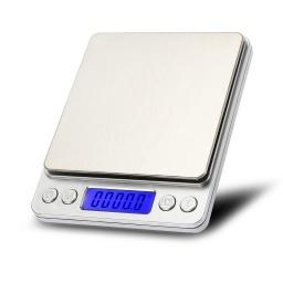 Balanza Electrónica de Cocina de Alta Precisión con Pantalla LCD I-2000