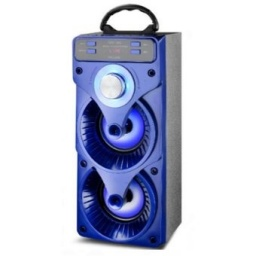 GHV05C Parlante Portátil LED USB BT FM BATERIA 2x4 GHV05C
