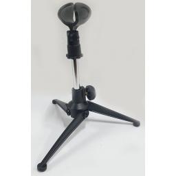 Soporte con Porta Micrófono, de Mesa Kit Completo  Gcm Pro GC-060