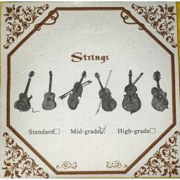 Juego de 4 cuerdas Encordado Ukelele calidad Standard UK-4