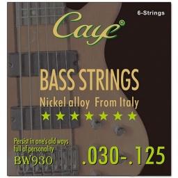 Encordado para Bajo Juego de 6 Cuerdas Orphee Caye Series bw930