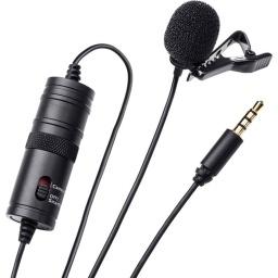 Microfono Solapero Corbatero para Camaras DSLR y Celulares GCM Pro Line