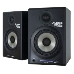 Monitor de Estudio Alesis M1 Active 520 USB (Par - Activa + Pasiva)
