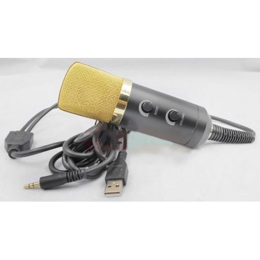 Microfono Para Podcast PC con USB G-1041E