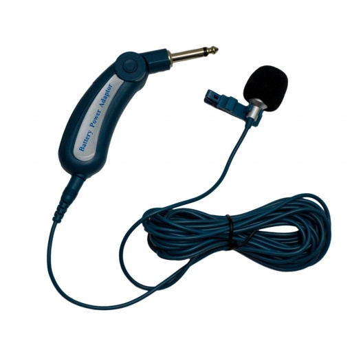 Microfono Solapero Entrevistas Cableado 5 metros GCM Pro