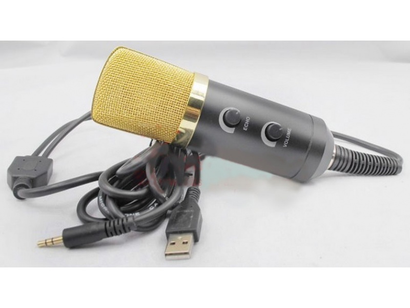 Microfono Para Podcast PC con USB G-1041E