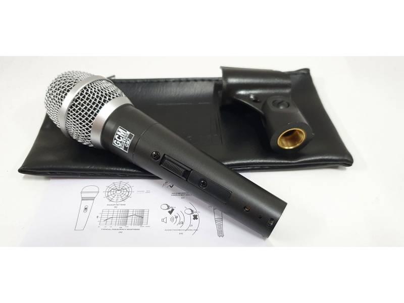 Microfono Dinamico Cardiode para uso Profesional GCM PRO LINE GM2