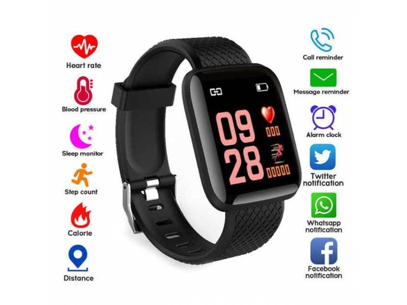 RELOJ INTELIGENTE smart watch PULSO+CALORIAS+DISTANCIA