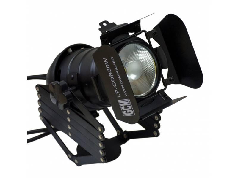 Par LED COB 50W Blanco Calido GCM Pro Line
